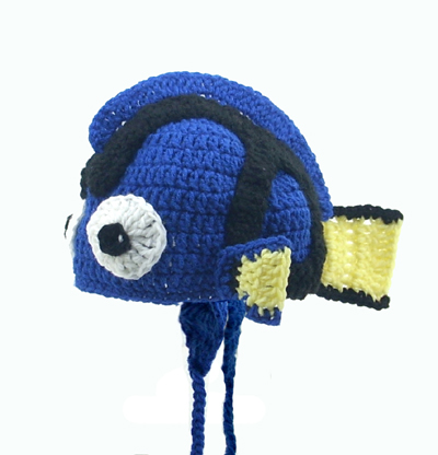 Dory Earflap Hat from Finding Nemo