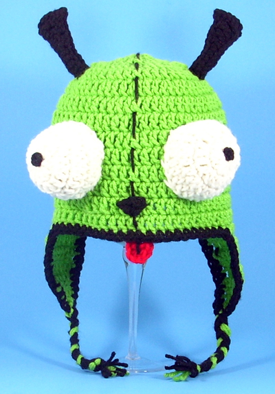Gir Earflap Hat from Invader Zim
