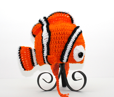 Nemo Earflap Hat from Finding Nemo