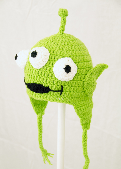Toy Alien Earflap Hat from Toy Story